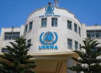 Hilfswerk der Vereinten Nationen für Palästinaflüchtlinge (UNRWA) in Rafah im Gaza-Streifen. Foto Abed Rahim Khatib / Flash90.