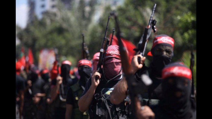 PFLP Kundgebung. Screenshot Youtube / PFLP