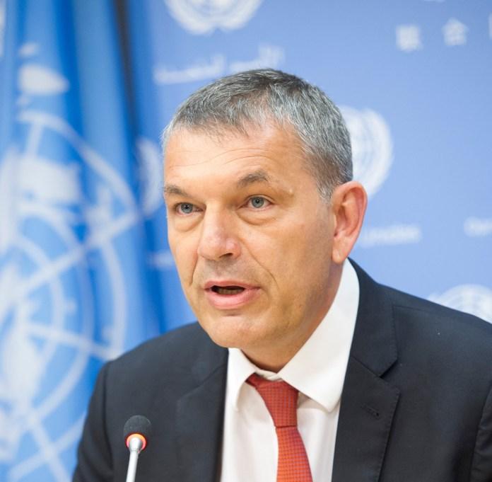 Philippe Lazzarini, Generalkommissar des Hilfswerks der Vereinten Nationen für palästinensische Flüchtlinge im Nahen Osten UNRWA). Foto UNRWA Photo