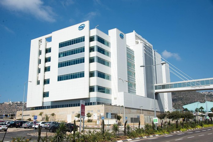 Das Intel IDC9-Gebäude in Haifa, Israel. Foto By xiquinhosilva - https://www.flickr.com/photos/xiquinho, CC BY 2.0, https://commons.wikimedia.org/w/index.php?curid=38508601