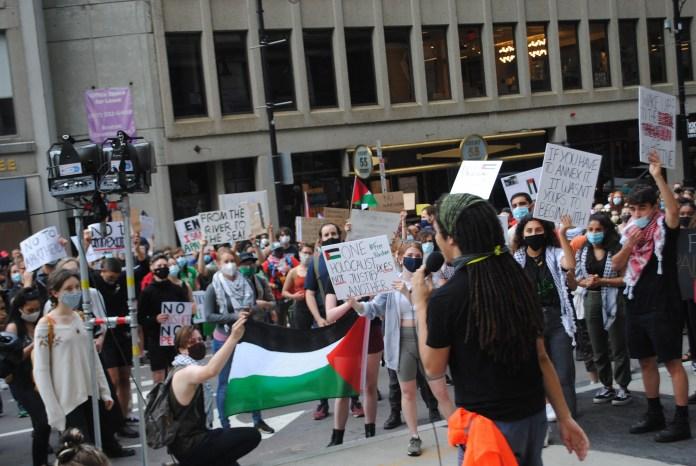 BDS Boston am 1. Juli 2020. Foto Dexter Van Zile