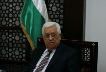 Der palästinensische Präsident Mahmud Abbas in Ramallah. Foto Ehud Amiton/TPS