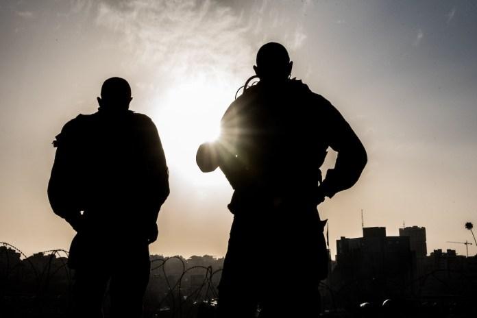 IDF-Soldaten am Ayosh-Knotenpunkt in der Nähe von Bet El und Ramallah am 26. November 2019. Foto Kobi Richter/TPS