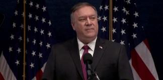 Pompeo kündigt Sanktionen gegen Al-Qaida-Führer an. Foto Screenshot Youtube