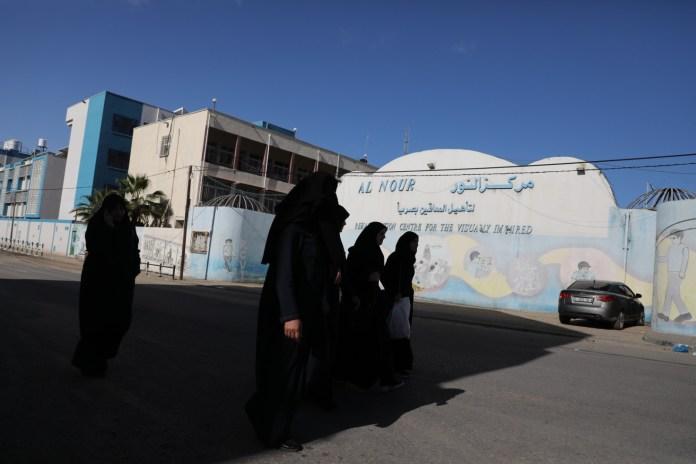 Die UNRWA Schule in der Stadt Gaza im Gazastreifen. 7. März 2020. Foto Majdi Fathi/TPS