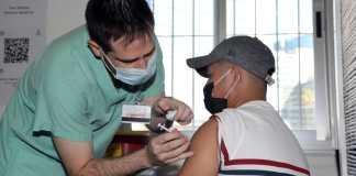 Israel: Impfkampagne für palästinensische Arbeitnehmer. Foto Gideon Markowicz/TPS
