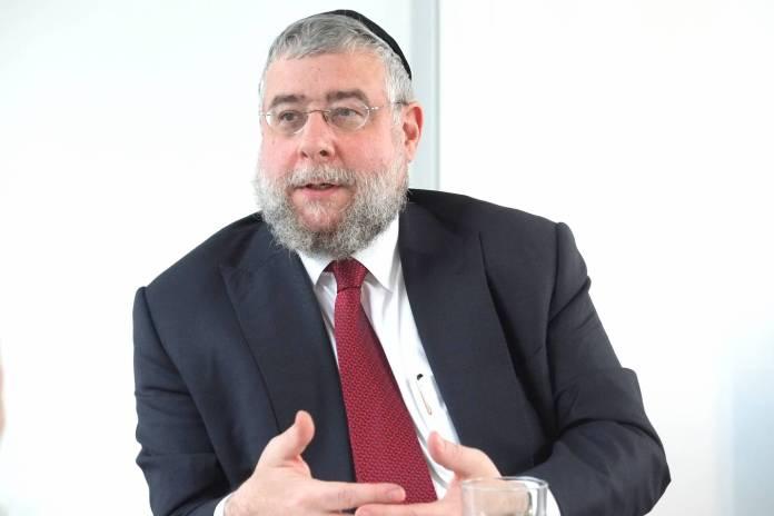 Pinchas Goldschmidt (* 21. Juli 1963 in Zürich) ist Vorsitzender der Europäischen Rabbinerkonferenz. Foto IMAGO / tagesspiegel