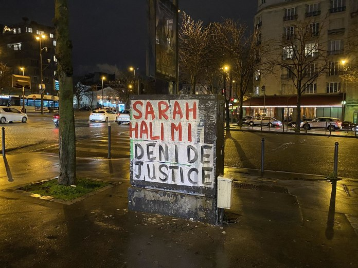 Collage am Place de la Porte-d'Auteuil in Paris. Foto © Polymagou/Wikimedia Commons, CC BY-SA 4.0, https://commons.wikimedia.org/w/index.php?curid=89715400