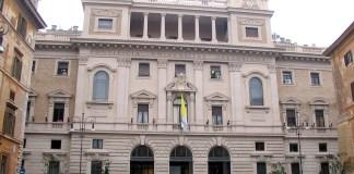 Die Päpstliche Universität Gregoriana in Rom. Foto Di Luigi Santoro - PUG Information Systems, PD, https://commons.wikimedia.org/w/index.php?curid=1573492