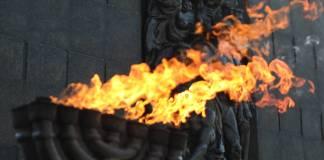 Denkmal fuer die Helden des Ghettoaufstandes in Warschau. Das Denkmal, auch Warschauer Ghetto Ehrenmal genannt, wurde am 19.04.1948 eingeweiht. Foto IMAGO / Eastnews