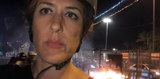 Paula Slier in Jerusalem. Foto @Audiatur-Online