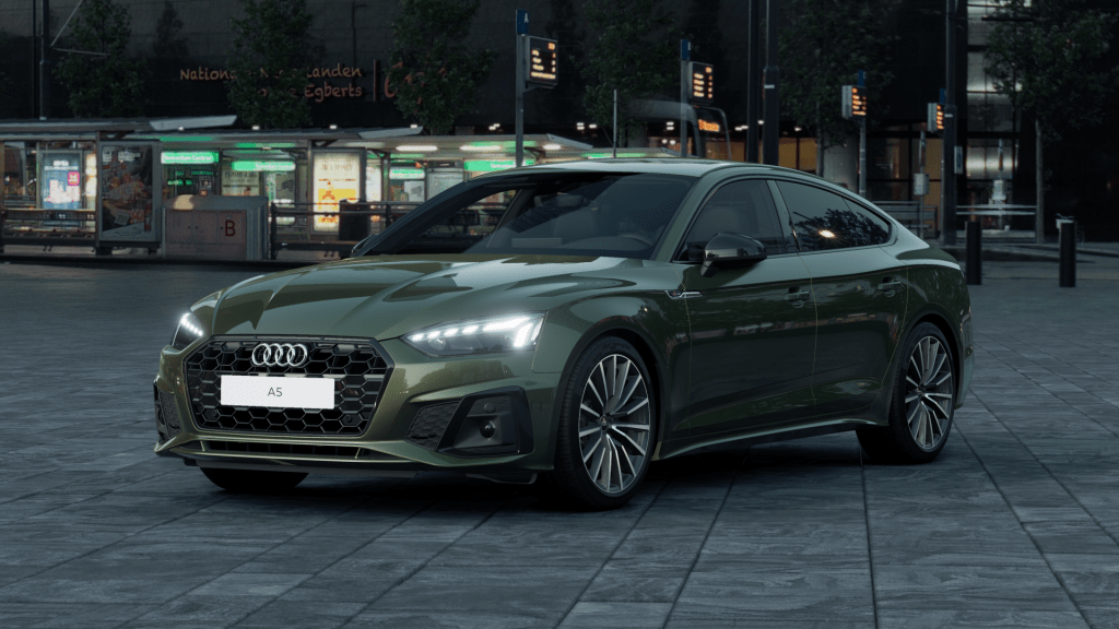 Audi A5 S edition competition 2021