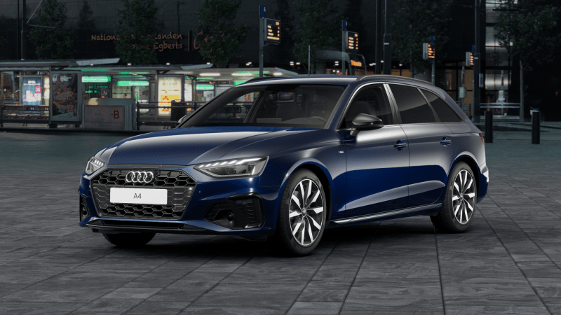 Audi A4 S edition competition 2021