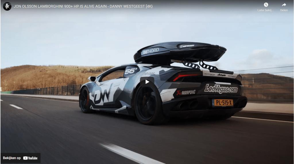 Jon Olsson Lamborghini