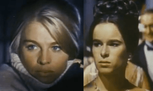 According to the Bechdel Test, Dr. Zhivago would be improved if these two had a chat about muffin recipes.