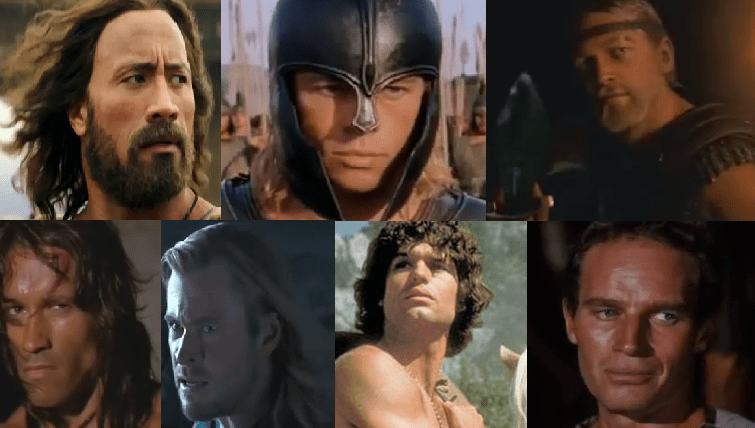 The AE Tourney of Mythological Movie Heroes, The Contestants