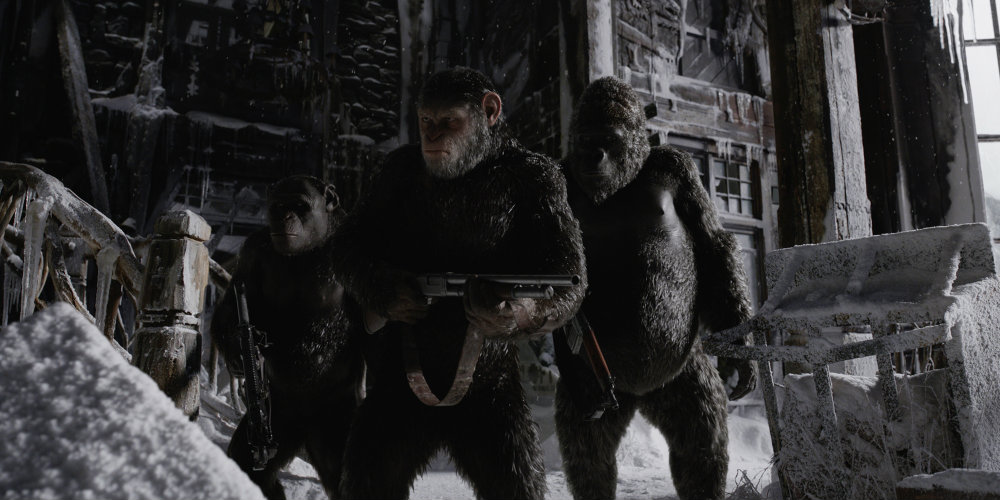 Final 'War for the Planet of the Apes' Trailer is Bananas