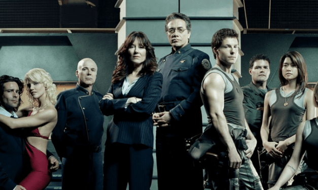 Battlestar Galactica (2003) Cast Reunion at EW