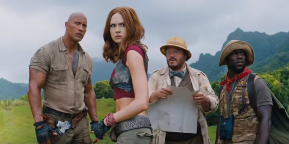 Jumanji Trailer Welcomes You to the Jungle