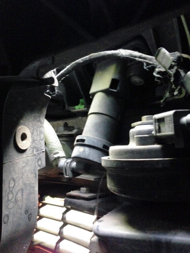 Windshield Washer Fluid Leak Under Headlight Washer