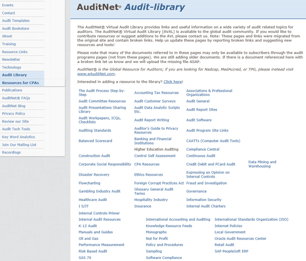 AuditNet Audit-Library