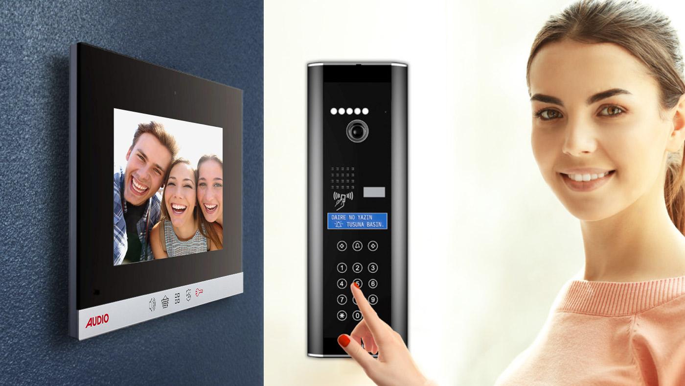 Akıllı Ev   Audio Elektronik A.Ş.   Görüntülü Diafon, Akıllı Ev Sistemleri