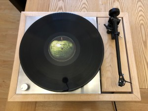 Maple Td 150 Top View With Record On