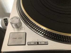 Sl 1200g Close Up Of Start Button And Selector Knobs