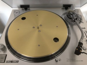 Sl 1200g Top View Of Platter No Mat
