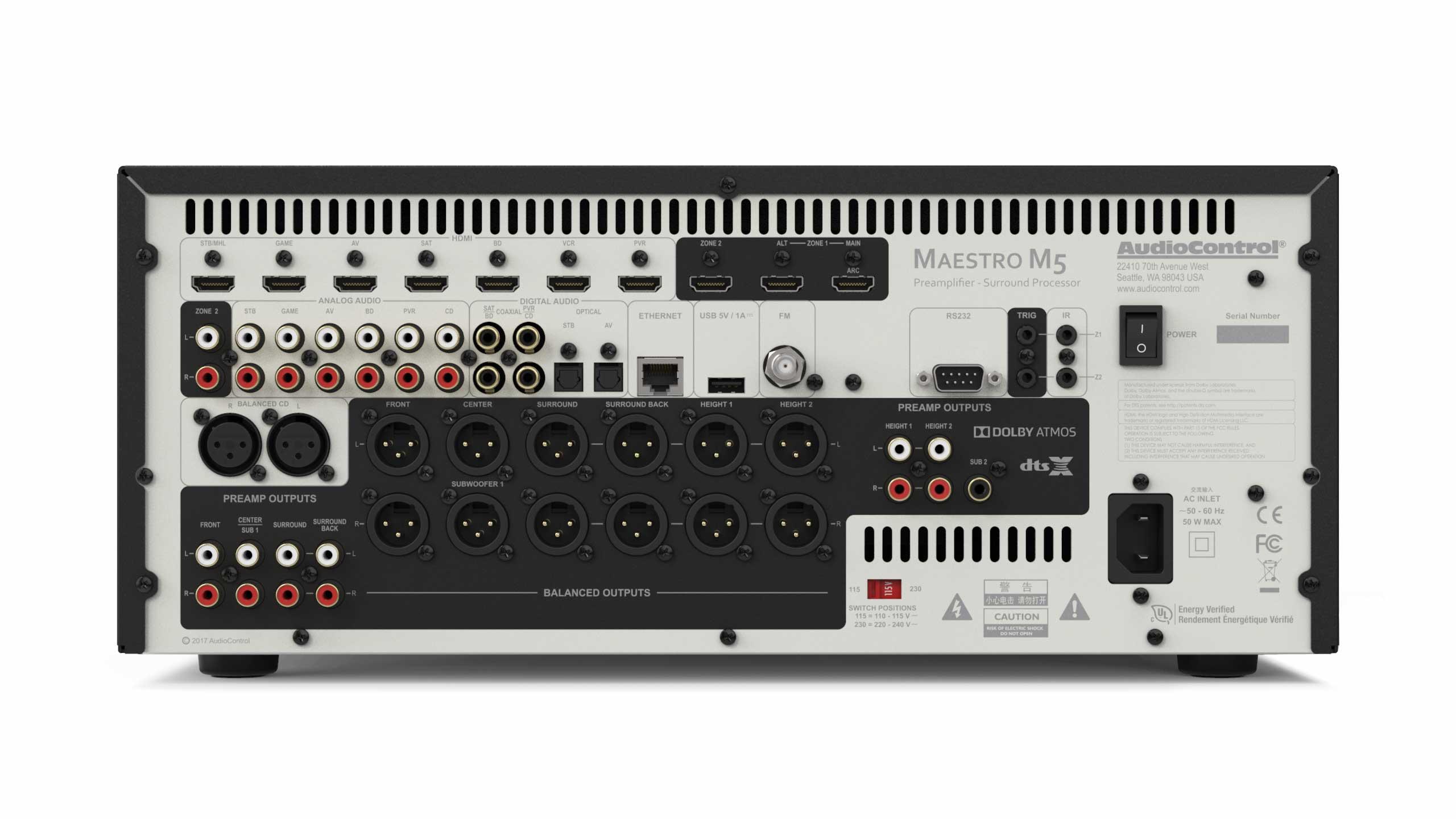 Audiocontrol Introduces The Maestro M5 Premium Home