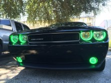 Challenger Halo Lights