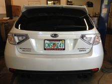 Subaru tail light makeover