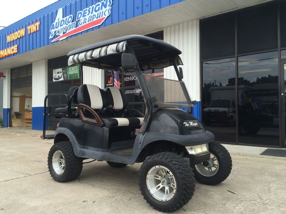 Golf Cart Audio Upgrades And Other Customizations