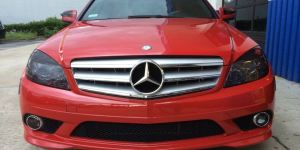 Mercedes Head Light Tinting