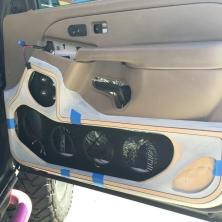 Custom Tahoe Door Panel