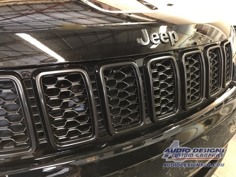 2017 Jeep Grand Cherokee Restyle Project Car Stereo