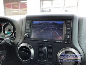 Jeep Wrangler Backup Camera