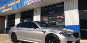 BMW Laser Defense