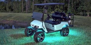 Upgrade your Golf Cart with Audio and Lighting