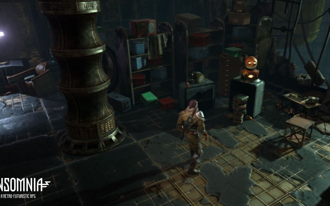InSomnia RPG – Room Ambient Soundscape and ZEEF Page Announce