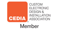 CEDIA Member (Custom Electronic Design & Installation Association)
