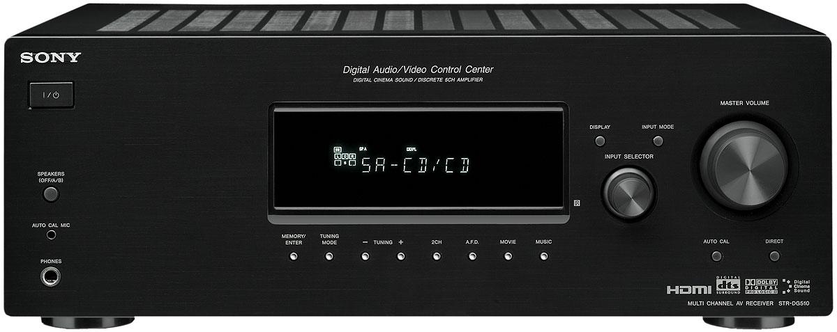 Sony STR DG510 Receiver Overview Audioholics