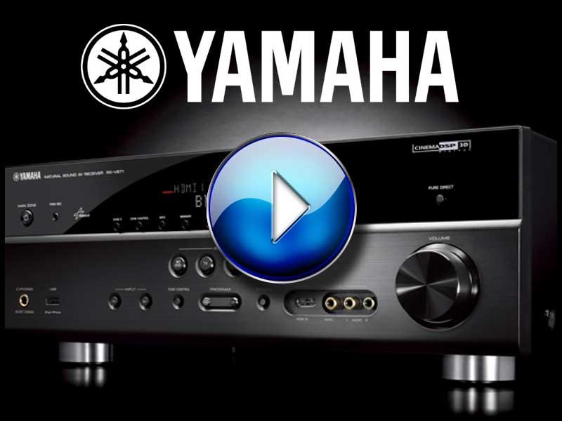 Yamaha RX V671 AV Receiver Review Audioholics