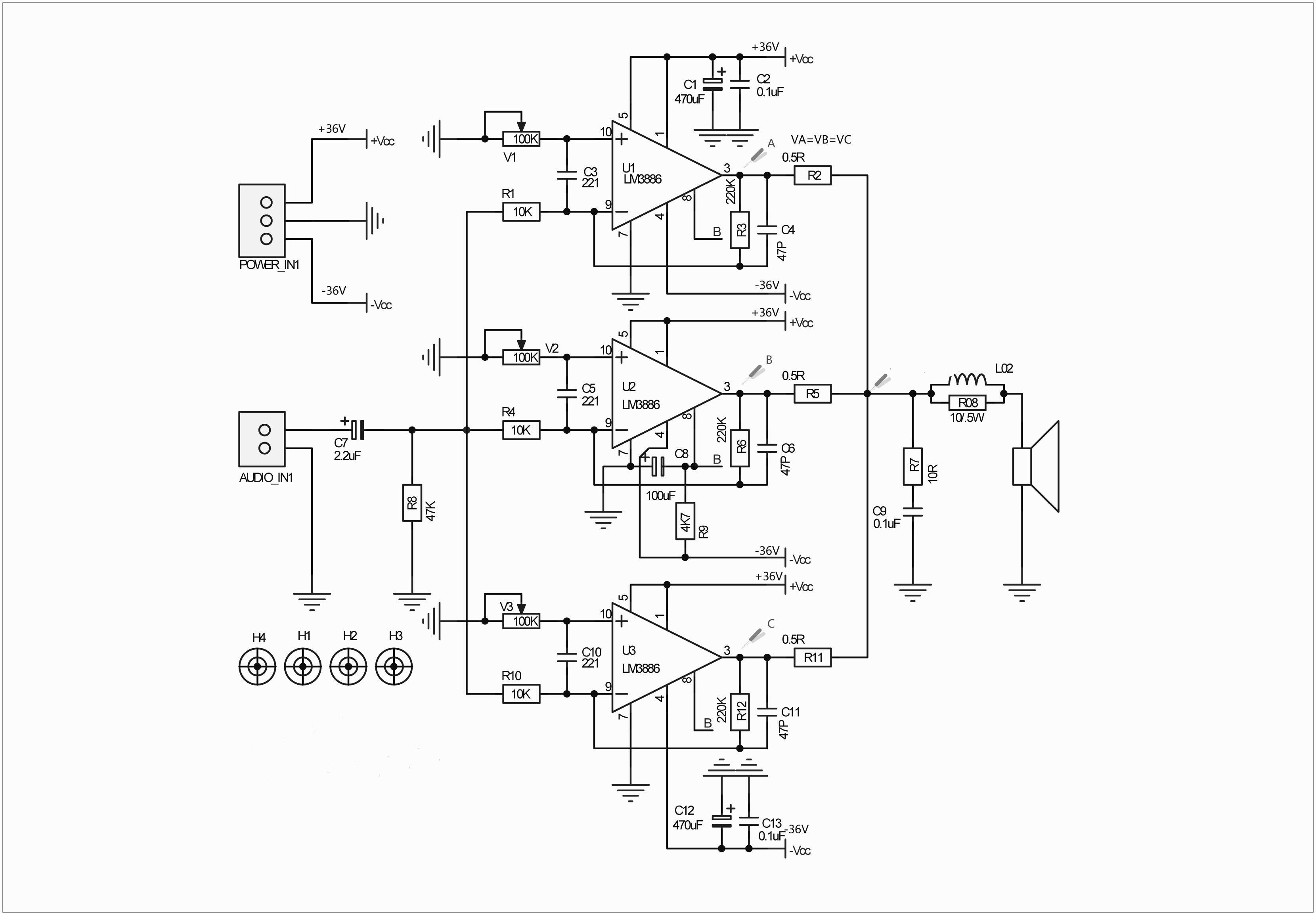 Audiophonics Apd85 Module Amplificateur Mono Lm 100w 8 Ohms