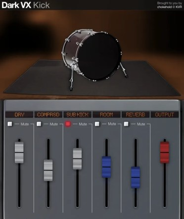 Dark VX Kick | Audio Plugins for Free