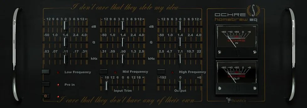 Ochre Free (Equalizer) • Audio Plugins for Free