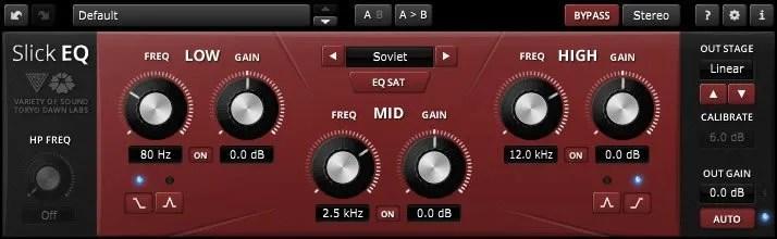 SlickEQ | Audio Plugins for Free