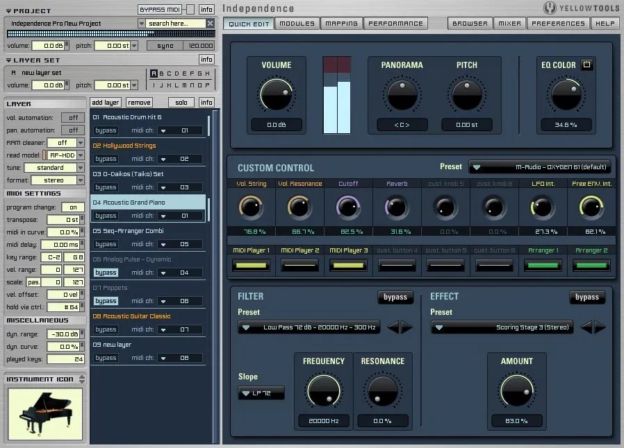 Independence Free (Sampler) • Audio Plugins for Free