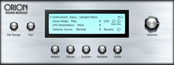 Orion Sound Module | Audio Plugins for Free