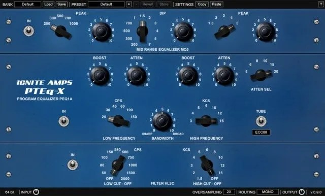 PTEq-X | Audio Plugins for Free